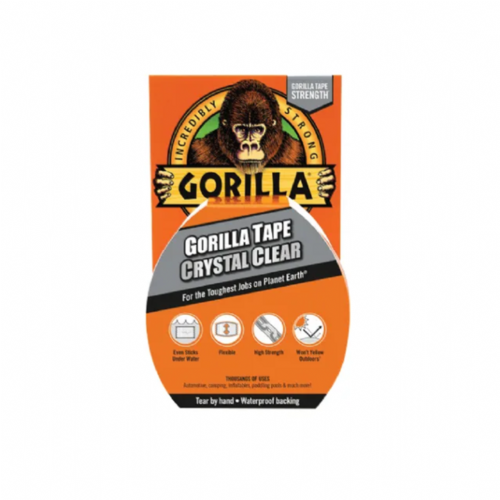 Gorilla 3044711 Tape Crystal Clear 48mm x 16.4m